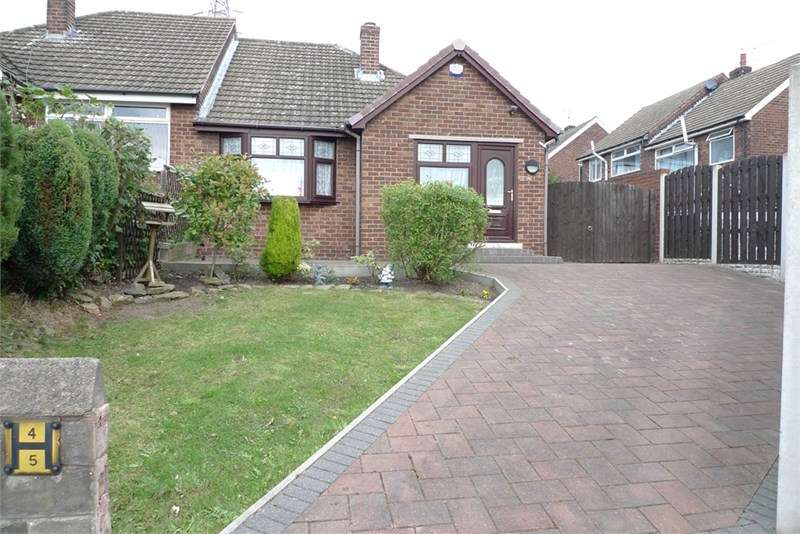 2 Bedrooms Semi Detached Bungalow for sale in Bradgate Close, KImberworth, ROTHERHAM