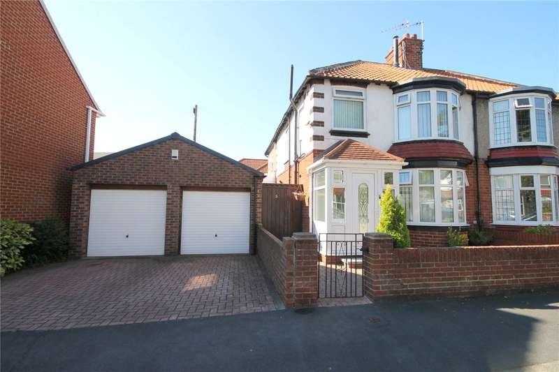 3 Bedrooms Semi Detached House for sale in Newlands Avenue, Bishop Auckland, County Durham, DL14