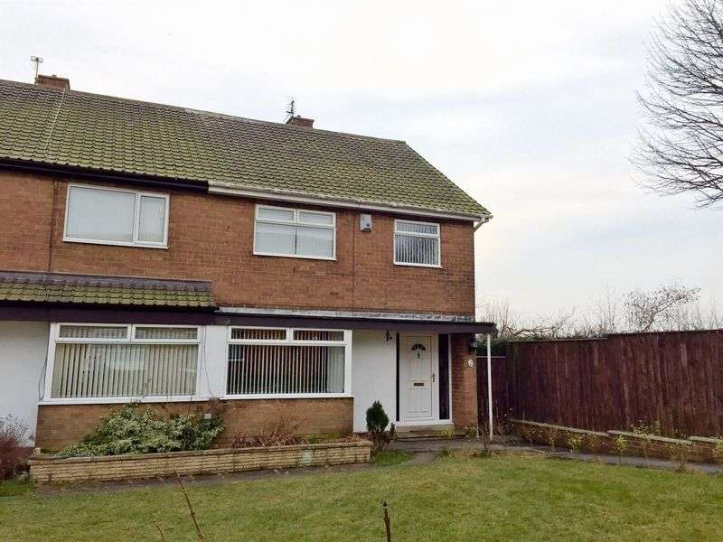 3 Bedrooms Semi Detached House for sale in Neville Road, Peterlee