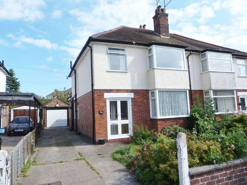 3 Bedrooms Semi Detached House for sale in Lumley Avenue, Skegness