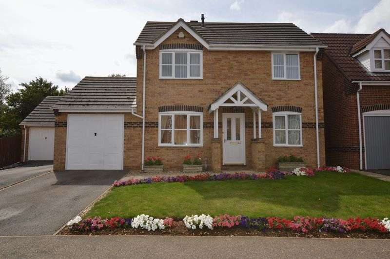 3 Bedrooms Detached House for sale in Charlock Drive, Stamford