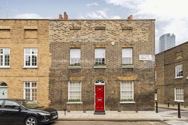 2 Bedrooms House for sale in Double fronted, grade II listed, Georgian, freehold house in Whittlesey Street, London SE1
