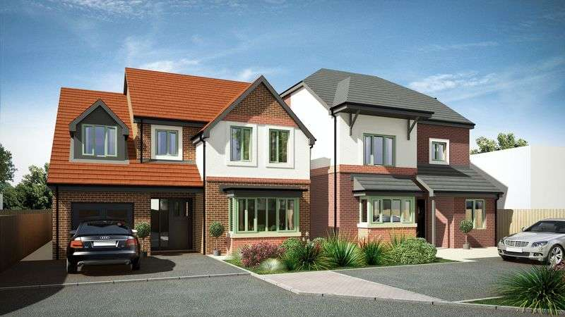 4 Bedrooms Detached House for sale in PLOT 5, Birch Road, Wardle, OL12 9QN