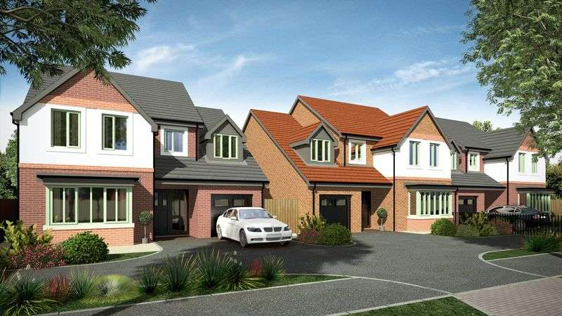 4 Bedrooms Detached House for sale in PLOT 2, Birch Road, Wardle, OL12 9QN