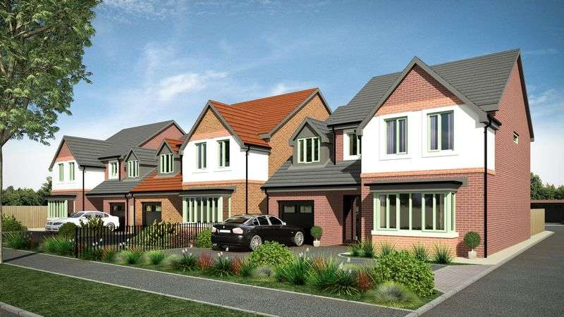 4 Bedrooms Detached House for sale in PLOT 3, Birch Road, Wardle, OL12 9QN