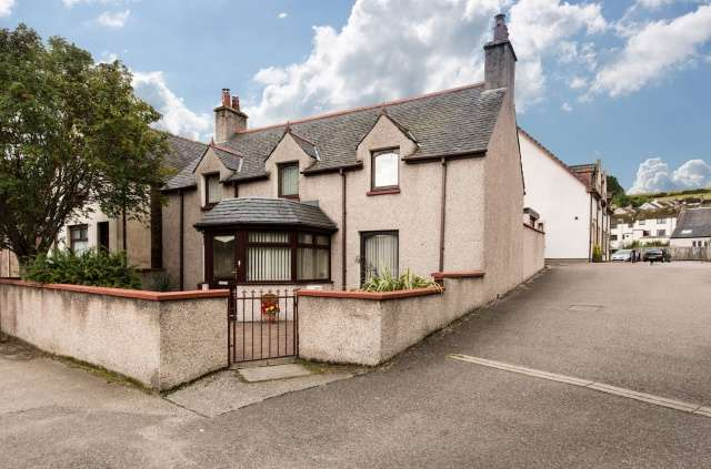 3 Bedrooms Detached House for sale in 25 Burn Place, Dingwall, Highland, IV15 9NQ