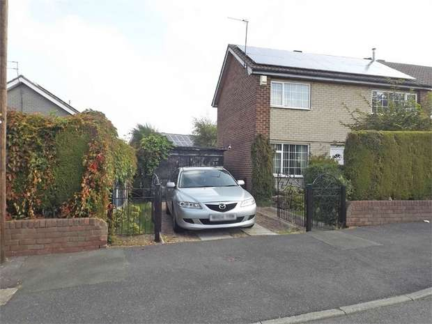 3 Bedrooms Semi Detached House for sale in Burkinshaw Avenue, Rawmarsh, Rotherham, South Yorkshire