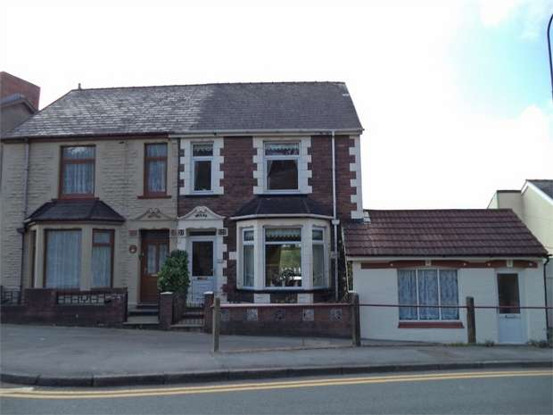 3 Bedrooms Semi Detached House for sale in Beaufort Rise, Beaufort, EBBW VALE, Blaenau Gwent