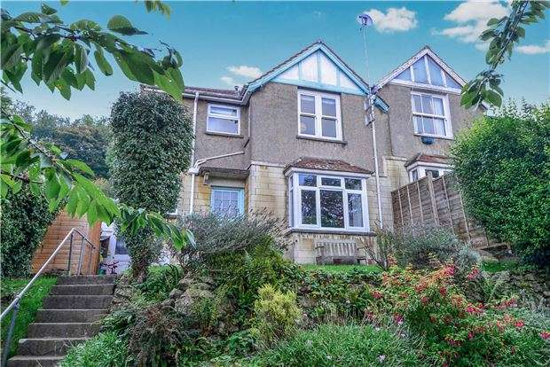 3 Bedrooms Semi Detached House for sale in St. Georges Hill, Bathampton, BATH, BA2