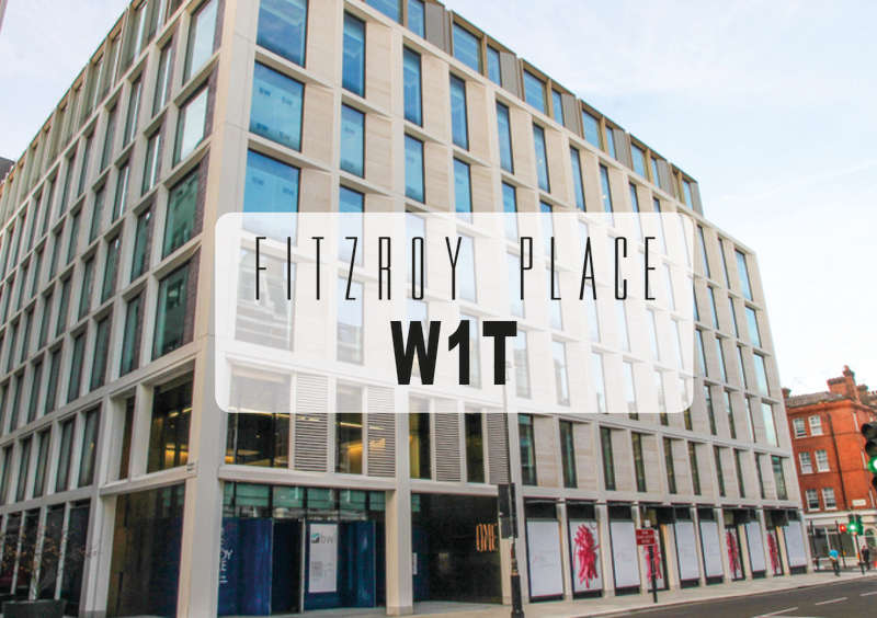 2 Bedrooms Flat for sale in Fitzroy Place, Mortimer Street, Fitzrovia