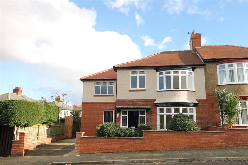 4 Bedrooms Semi Detached House for sale in Warwick Road, Bishop Auckland, County Durham, DL14