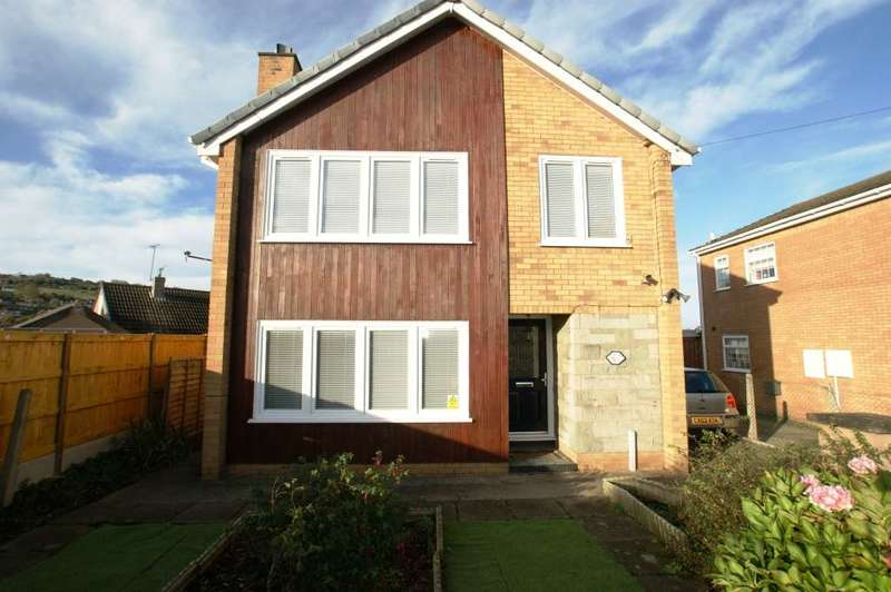 3 Bedrooms Detached House for sale in Bryn Mawr Road, Holywell, CH8 7AP.