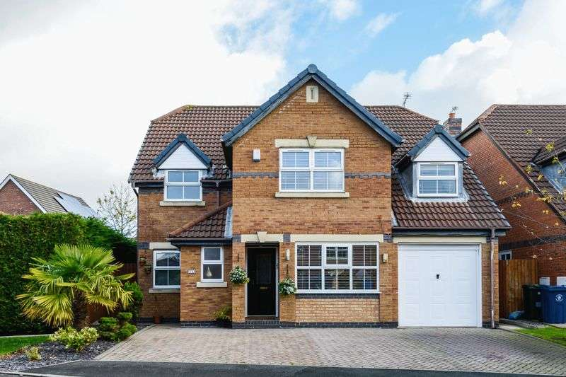 4 Bedrooms Detached House for sale in Bracknel Way, Aughton