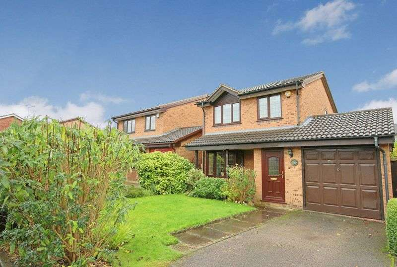 3 Bedrooms Detached House for sale in Keswick Close, Wistaston