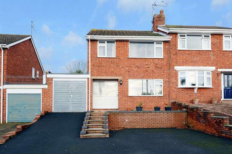 3 Bedrooms Semi Detached House for sale in Titterstone Road, Highley