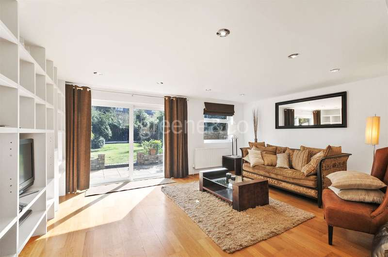 3 Bedrooms Flat for sale in Greencroft Gardens, South Hampstead, London, NW6