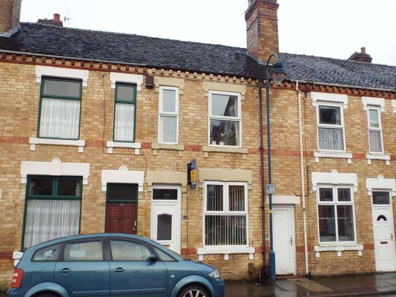 2 Bedrooms Terraced House for sale in Wellesley Street, Shelton, Stoke-On-Trent
