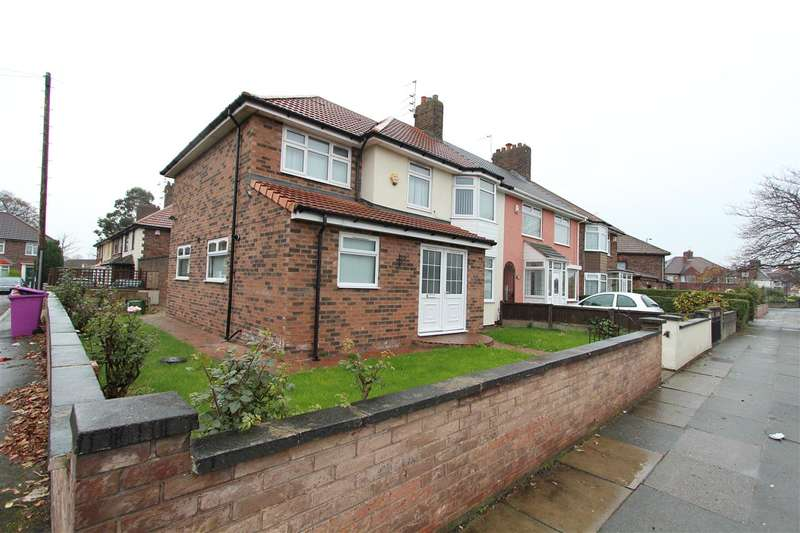 5 Bedrooms Semi Detached House for sale in Queens Drive, Stonycroft, Liverpool