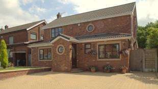 4 Bedrooms Detached House for sale in Betsyfield Drive, Croft, Warrington, Cheshire