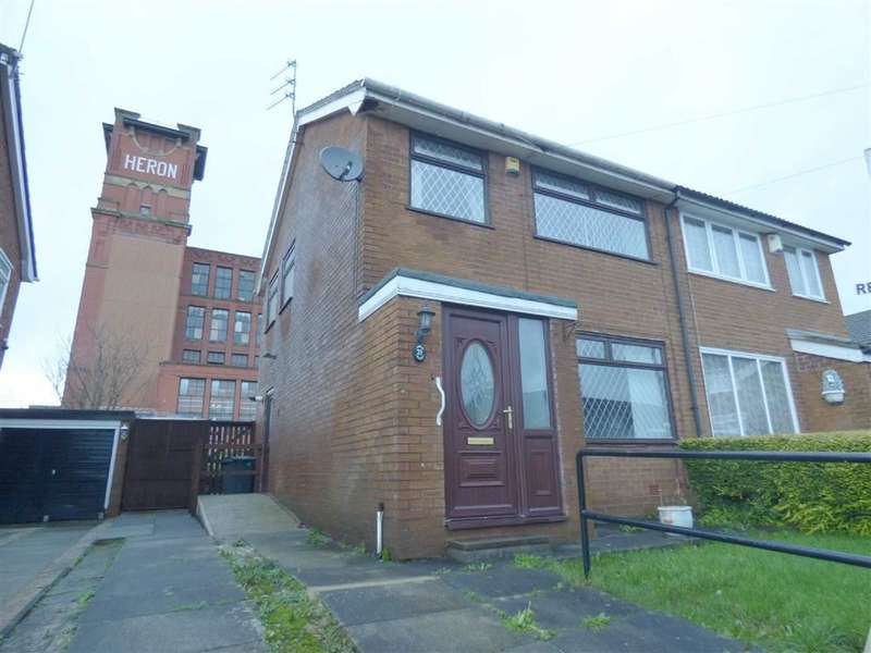 3 Bedrooms Property for sale in Swallow Street, Hollins, Oldham, OL8