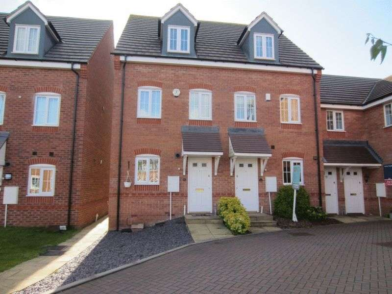 3 Bedrooms Terraced House for sale in Bryan Budd Close, Rowley Regis