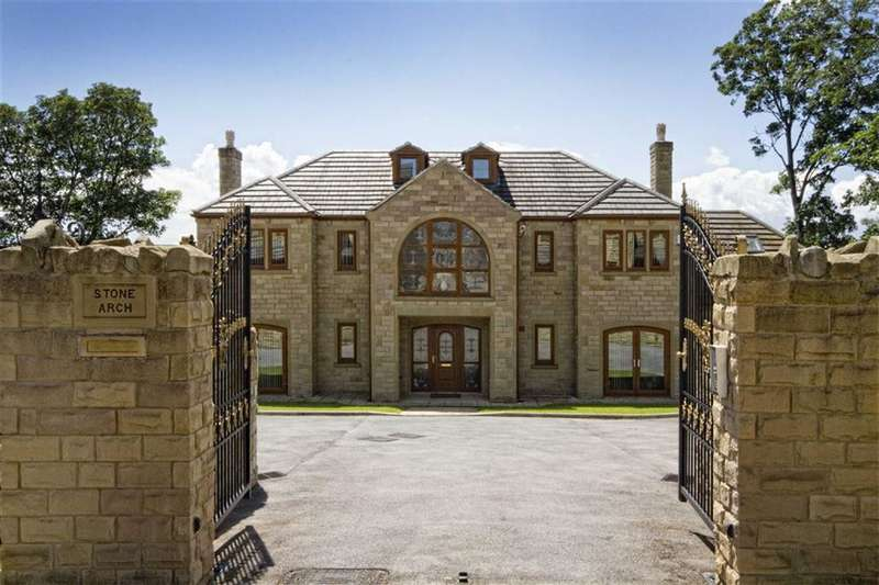5 Bedrooms Detached House for sale in The Reynards, Lee Green, Mirfield