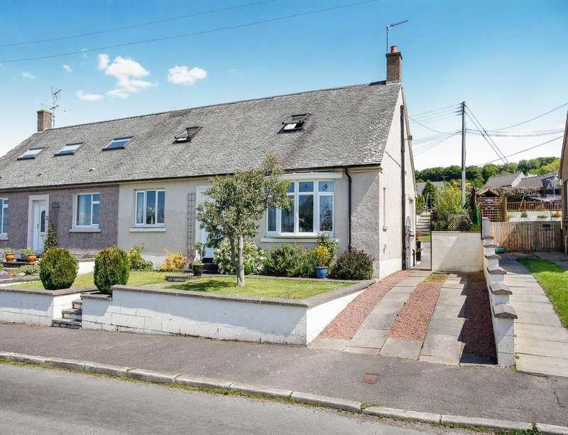4 Bedrooms Semi Detached Bungalow for sale in Castleview Terrace, Torthorwald, Dumfries, DG1