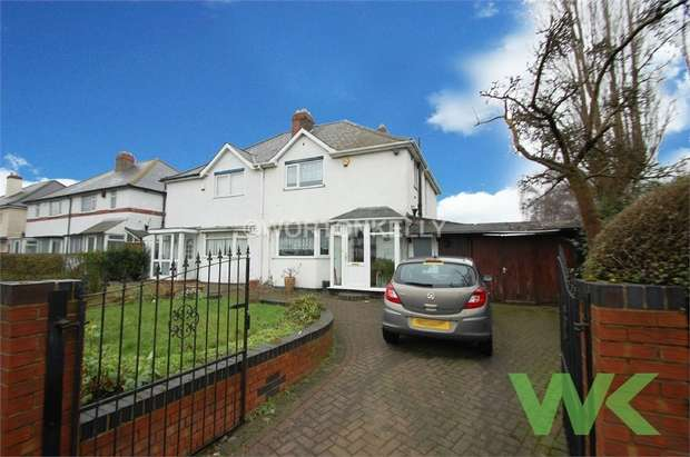 3 Bedrooms Semi Detached House for sale in Aldridge Road, Perry Barr, BIRMINGHAM, West Midlands