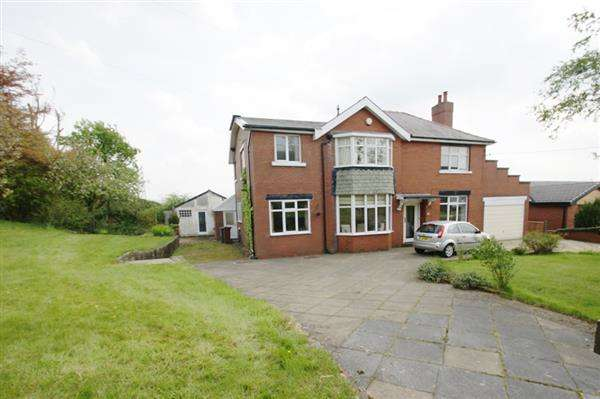 5 Bedrooms Detached House for sale in Lower Turf Lane, Scouthead, Oldham
