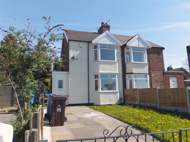 2 Bedrooms Semi Detached House for sale in Warrington Road, Prescot, Merseyside