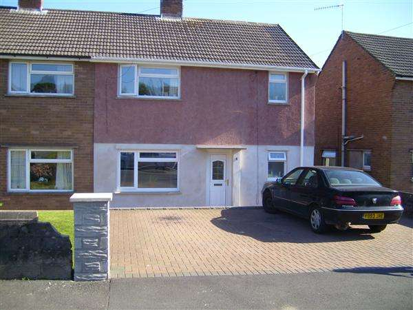 3 Bedrooms Semi Detached House for sale in Heol Nant, Pontypridd