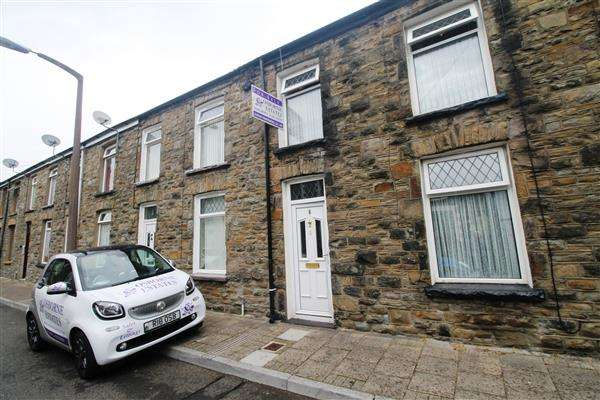3 Bedrooms Terraced House for sale in Jenkin ST, Porth, Porth