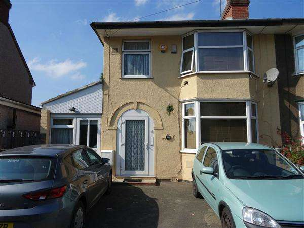 3 Bedrooms Semi Detached House for sale in Hallgreen Road, Coventry