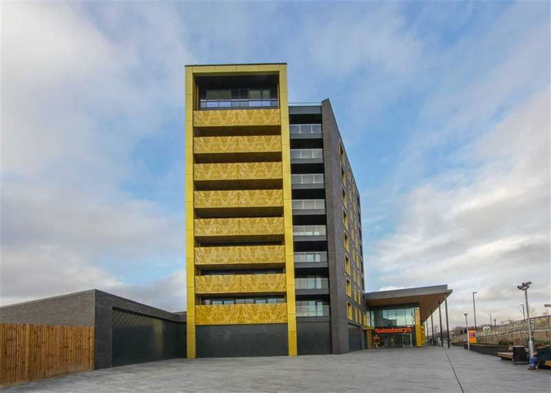 2 Bedrooms Property for sale in Flat 25 Hippersley Point, London, SE2