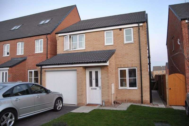 3 Bedrooms Detached House for sale in Plover Way, Scunthorpe