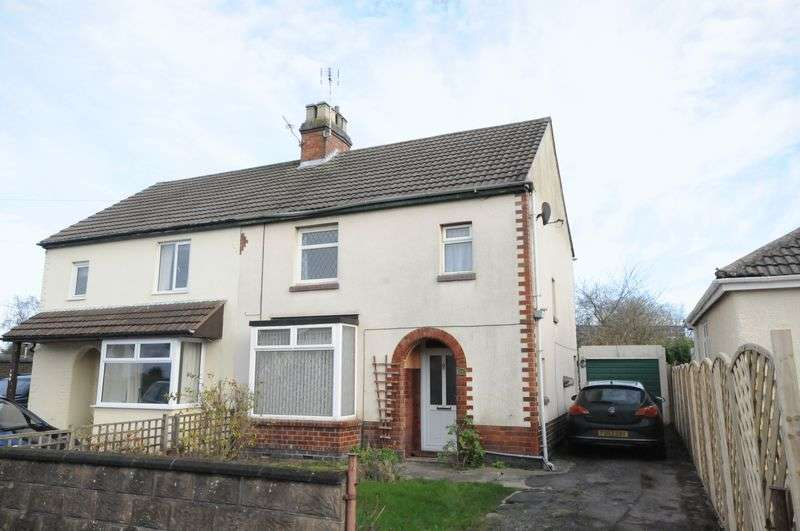 3 Bedrooms Semi Detached House for sale in Burton Road, Woodville