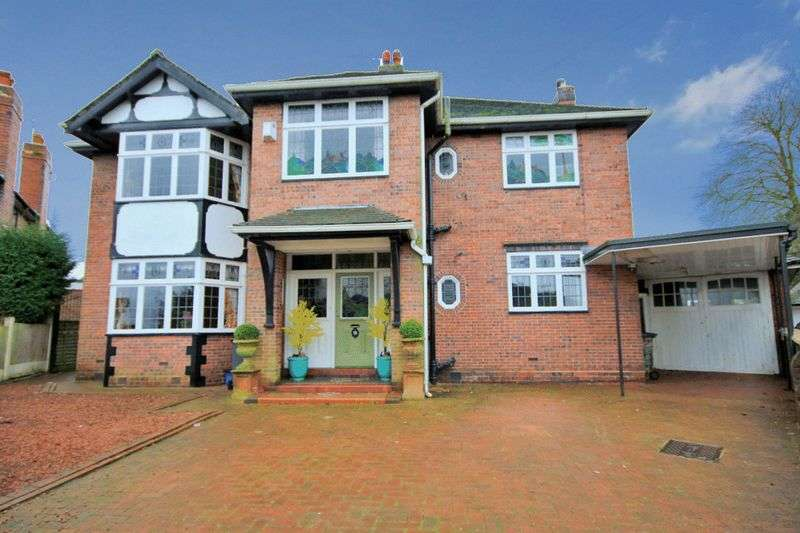 4 Bedrooms Detached House for sale in Walleys Drive, Basford