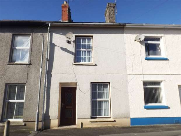 2 Bedrooms Terraced House for sale in Victoria Crescent, Llandovery, Carmarthenshire