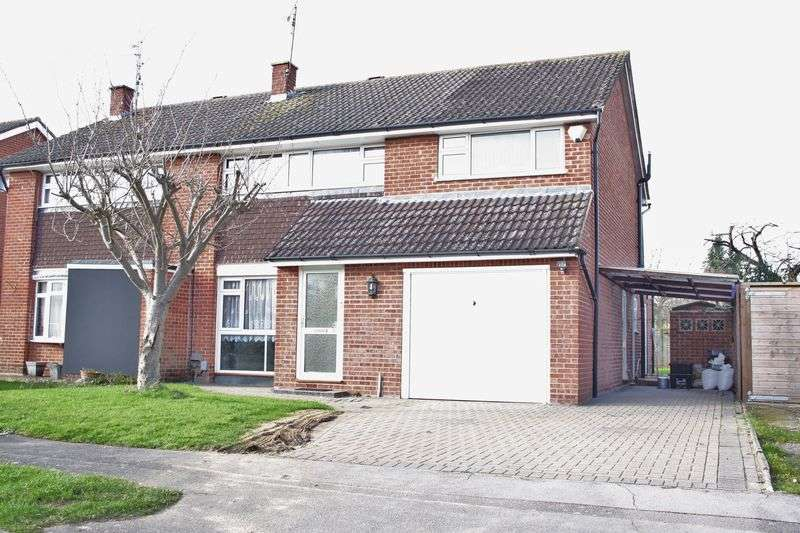 4 Bedrooms Semi Detached House for sale in Renault Road, Woodley