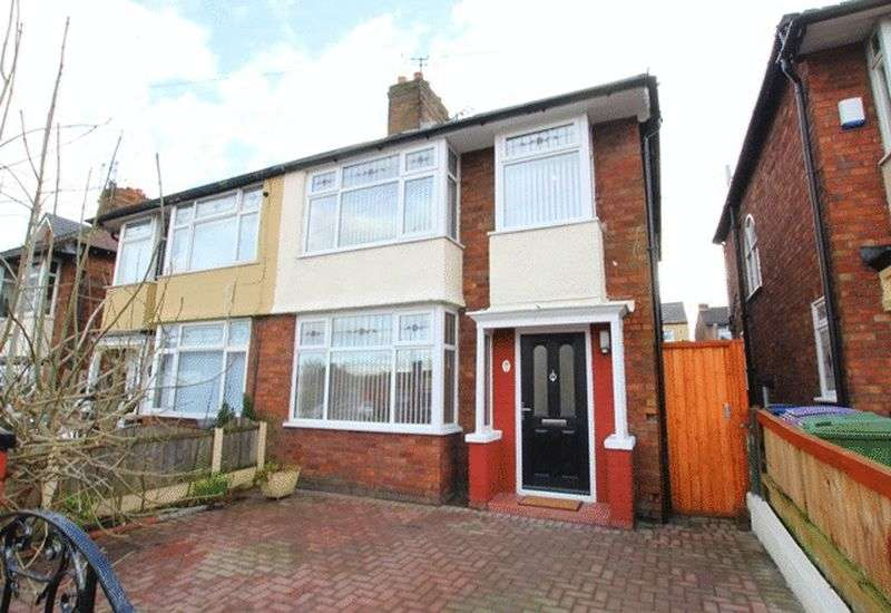 3 Bedrooms Semi Detached House for sale in Oakfield, Anfield, Liverpool, L4