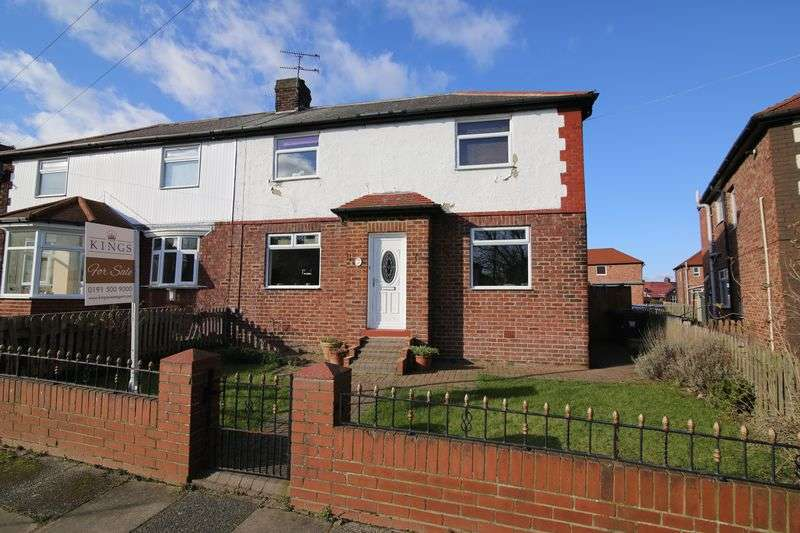 4 Bedrooms Semi Detached House for sale in Kielder Gardens, Jarrow