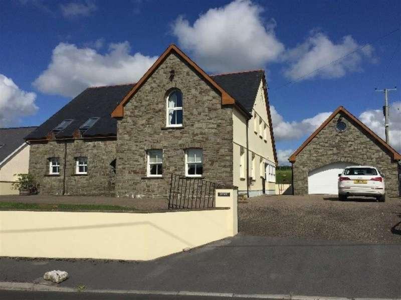4 Bedrooms Property for sale in Bancyffordd, Bancyffordd, Llandysul