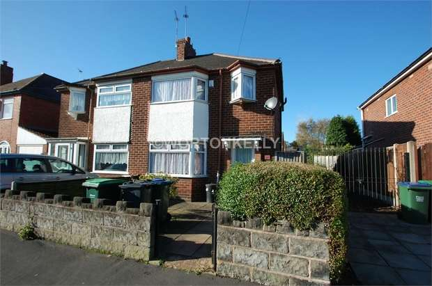 3 Bedrooms Semi Detached House for sale in Lynton Avenue, WEST BROMWICH, West Midlands