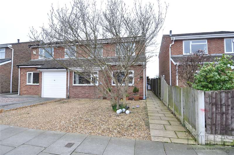 3 Bedrooms Semi Detached House for sale in Brookdale Avenue North, Greasby, Wirral