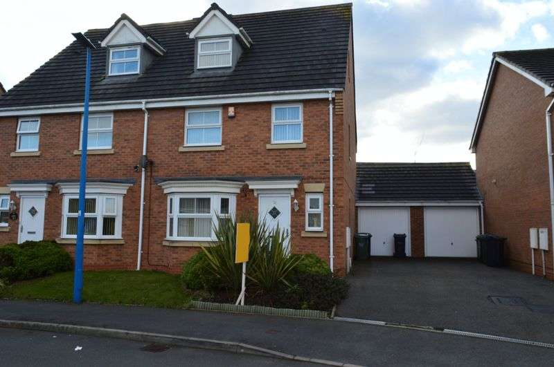 6 Bedrooms Semi Detached House for sale in Scott Street, Tipton
