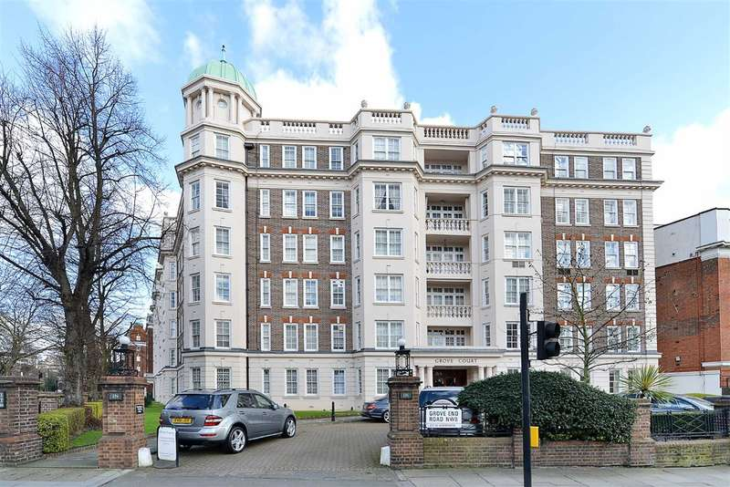 4 Bedrooms Flat for sale in Grove Court, London, NW8