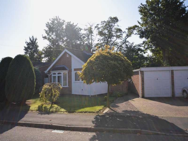 2 Bedrooms Detached Bungalow for sale in Rumsey Drive, Whetstone, Leicester, LE8