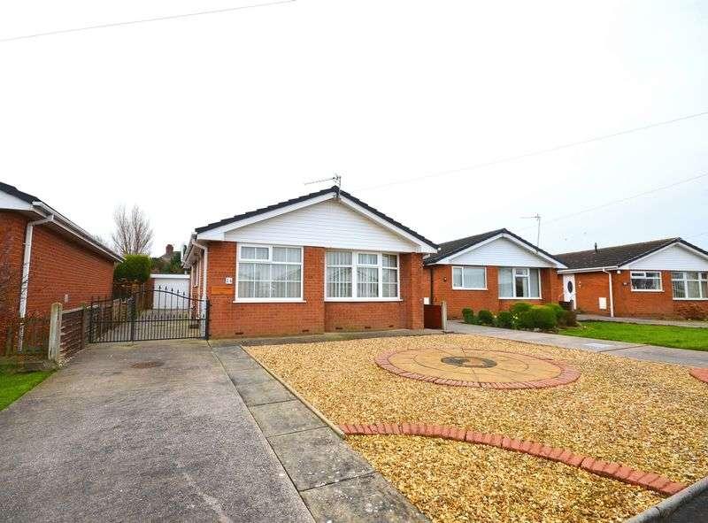 2 Bedrooms Detached Bungalow for sale in 24 Thornhill Avenue, Preesall, Poulton-Le-Fylde FY6 0EZ