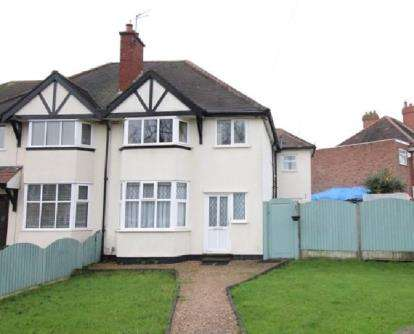 4 Bedrooms Semi Detached House for sale in Hardwick Road, Solihull, West Midlands