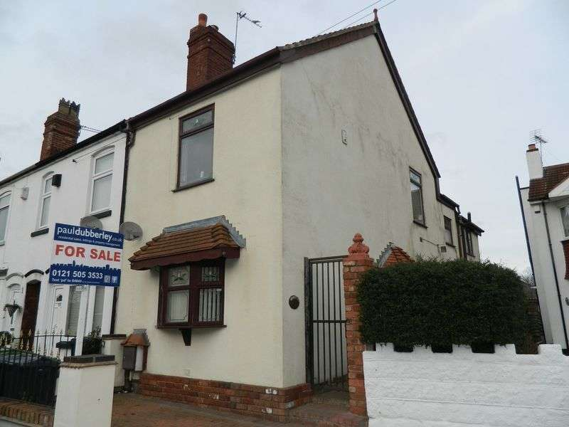 2 Bedrooms Terraced House for sale in Windmill Street, Wednesbury